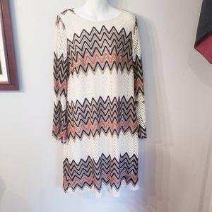 3/20$ Tacera crochet Chevron pattern boho vibes